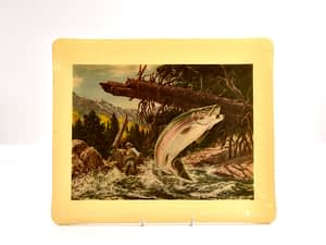 Vintage American Fly Fishing Tray