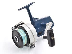 vintage fishing reel
