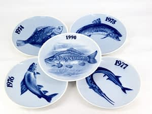 Danish Fish Plates - Tove Svendsen