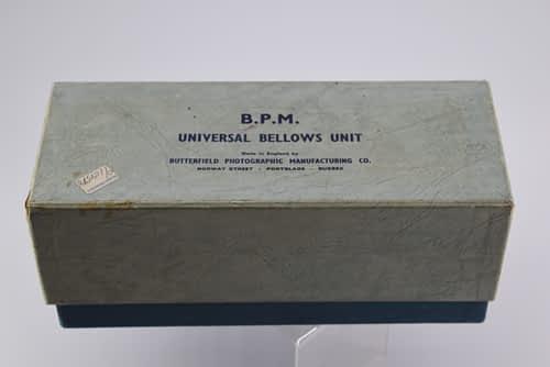 BPM Universal Camera bellows Unit