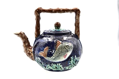 Majolica Tea Pot