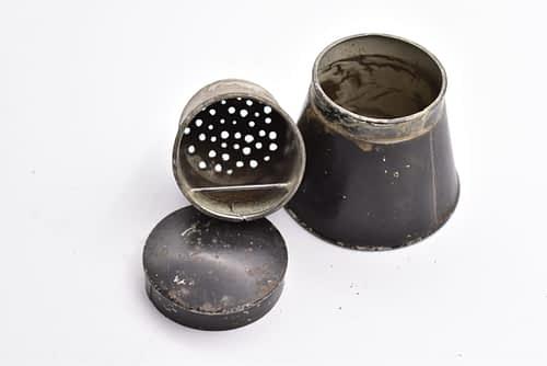 vintage bait tin