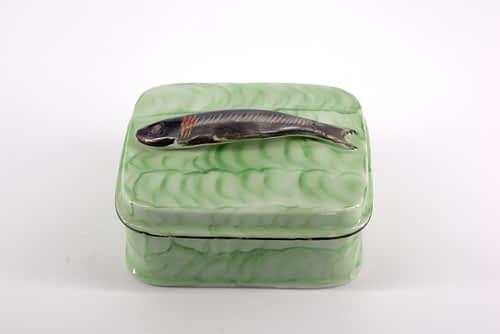Green Ceramic Sardine pot - Antiques Forum
