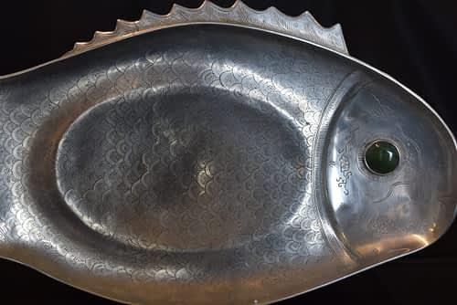 Decorative fish Platter
