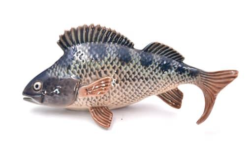 Danish Perch Fish Figurine