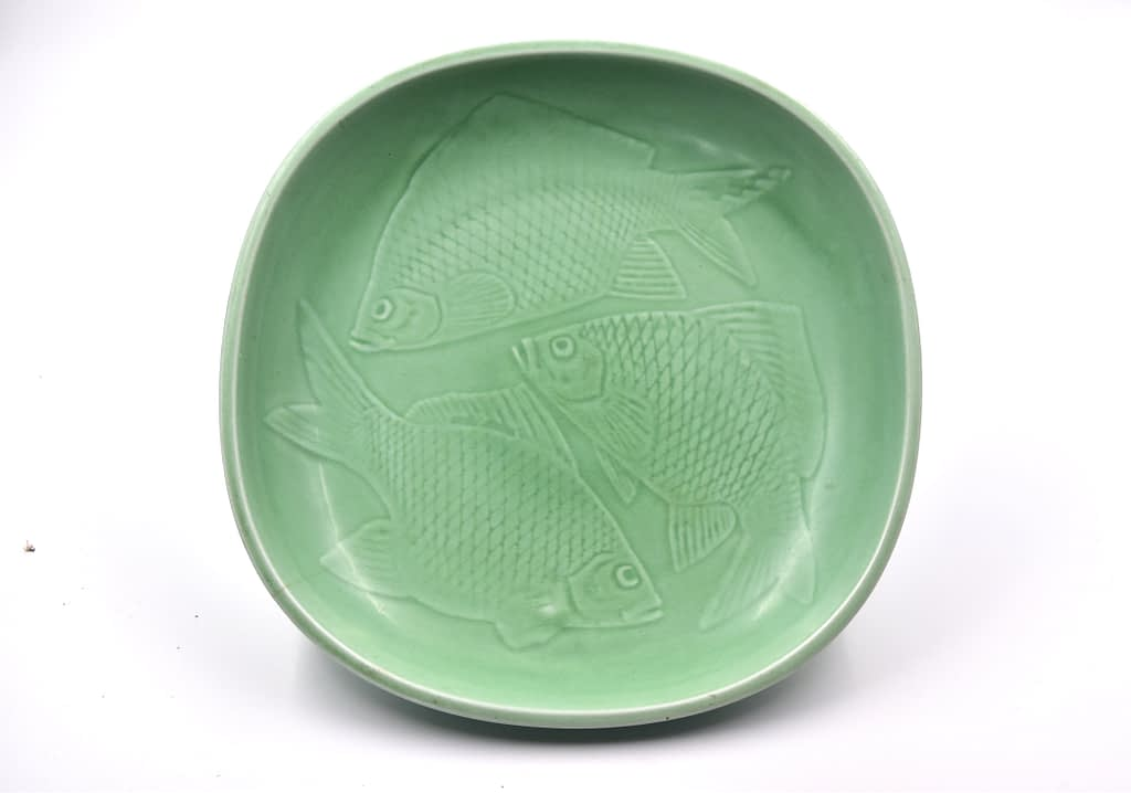 Nils Thorsson, Aluminia, Large Dish
