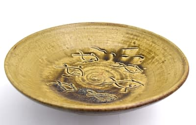 Studio pottery charger