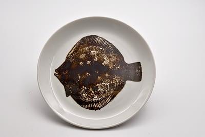 Porsgrund Fish Plate - Antiques Forum