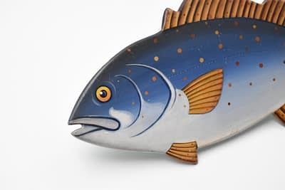 antiques and collectables - Folk Art Fish